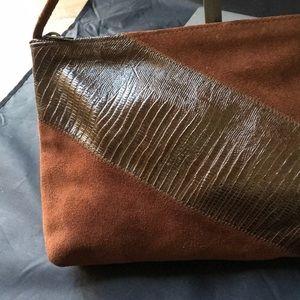 Handbags - Vintage Hobo Chic Suede Shoulder Bag